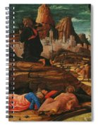 The Agony In The Garden 1455 Spiral Notebook