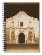 The Alamo Greeting Card Spiral Notebook