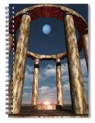 The Aligning Of Neptune Spiral Notebook