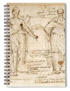 The Allegorical Figures Of Reason And Wisdom  Spiral Notebook