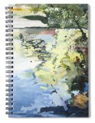 The Alster In High Summer Spiral Notebook