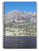 The Amalfi Coast - Panorama Spiral Notebook