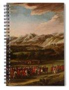The Ambassadorial Procession Spiral Notebook