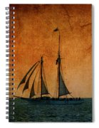 The America In Key West Spiral Notebook