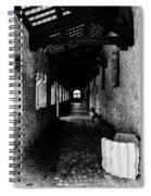 The Ancient Cloister 3 Spiral Notebook