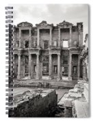 The Ancient Library Spiral Notebook