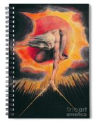 The Ancient Of Days Spiral Notebook