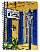 The Andrew Jackson Hotel - New Orleans Spiral Notebook
