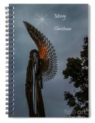 The Angel At Christmas Spiral Notebook