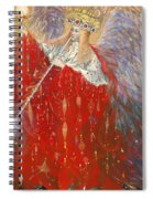 The Angel Of Life Spiral Notebook