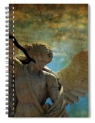 The Angel Of The Last Days Spiral Notebook