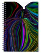 The Angel Of The Rainbow Spiral Notebook