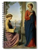The Angelic Salutation Spiral Notebook