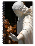 The Angels Warning Spiral Notebook