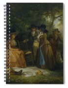 The Anglers Repast Spiral Notebook