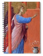The Annunciation Fragment 1311 Spiral Notebook