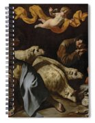 The Annunciation To The Shepherds Spiral Notebook