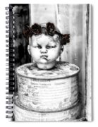 The Antique Doll's Head Spiral Notebook