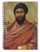 The Apostle Bartholomew 1311 Spiral Notebook