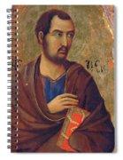 The Apostle Thaddeus 1311 Spiral Notebook