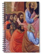 The Apostles Of Maria Fragment 1311 Spiral Notebook