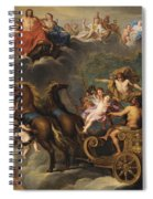 The Apotheosis Of Hercules Spiral Notebook