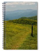 The Appalachian Trail Crossing Max Patch Spiral Notebook