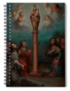The Apparition Of The Virgin Of El Pilar To St. James Spiral Notebook