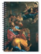 The Apparition Of The Virgin The St James The Great Spiral Notebook