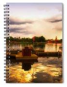 The Approaching Storm Walt Disney World Spiral Notebook
