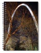 The Arch 3 St Louis Missouri Gateway Arch Art Spiral Notebook