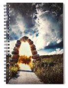 The Arch On The Edge Of Forever Spiral Notebook