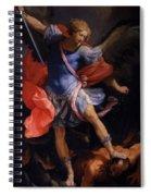 The Archangel Michael Defeating Satan 1635 Spiral Notebook