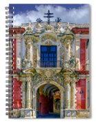 The Archbishop's Palace Of Seville Spiral Notebook