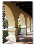 The Arches Mission Santa Ines Spiral Notebook