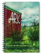 The Ark Wa. Spiral Notebook