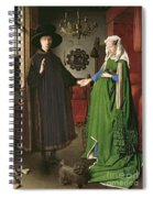 The Arnolfini Marriage Spiral Notebook