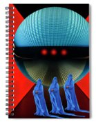 The Arrival 3 Spiral Notebook