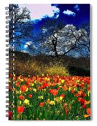 The Arrival Of A Season Spiral Notebook
