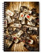 The Art Of Antique Games Spiral Notebook