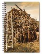 The Art Of Bonfires Spiral Notebook