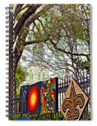 The Art Of Jackson Square Spiral Notebook
