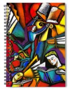 The Art Of Learning Spiral Notebook