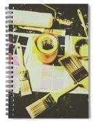 The Art Of Restoration Spiral Notebook