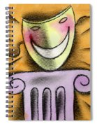The Art Of Smiling Spiral Notebook