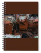 The Art Of The Machine Spiral Notebook