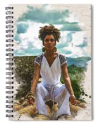 The Art Of Yoga Spiral Notebook