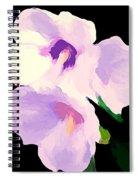 The Artful Hibiscus Spiral Notebook