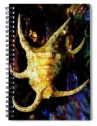 The Arthritic Spider Conch Seashell Spiral Notebook