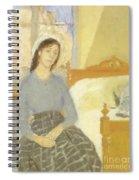 The Artist In Her Room In Paris Spiral Notebook